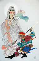 Brilliance and Mercy (Immortal Suite) 1992 w Remarque Limited Edition Print by Caroline Young - 1