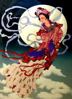 Legend of the Autumn Moon 1991 Limited Edition Print by Caroline Young