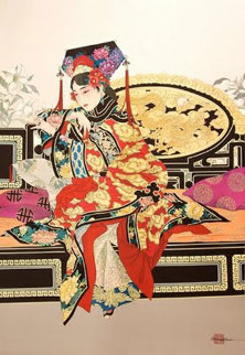 Manchurian Empress 1989 Limited Edition Print by Caroline Young