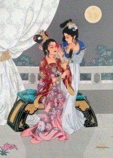 Sisters of the Red Chamber 1996 Limited Edition Print - Caroline Young