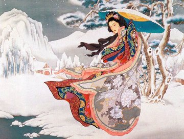 Winter Serenade 1992 Limited Edition Print by Caroline Young