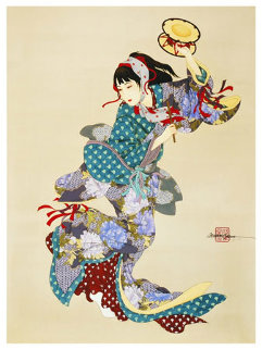 Drum Dancer Limited Edition Print by Caroline Young