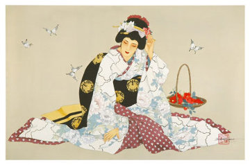 Butterfly Courtship Limited Edition Print - Caroline Young