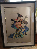Manchurian Emperor 1991 Limited Edition Print by Caroline Young - 1