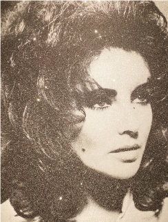 Liz Taylor 2011 39x31 Limited Edition Print - Russell Young