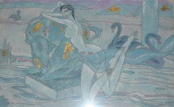 Princessa Del Rio 24x39 Original Painting - Yamin Young