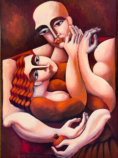 Touch 1998 Limited Edition Print by  Yuroz