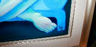 Light Blue Couch 1989 62x62 Huge Major Painting Original Painting by  Yuroz - 7