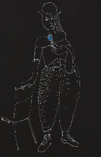 Fragrance 1989 20x16 Works on Paper (not prints) -  Yuroz