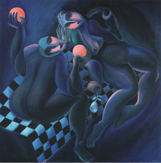 Choice of Love 1989 Limited Edition Print by  Yuroz