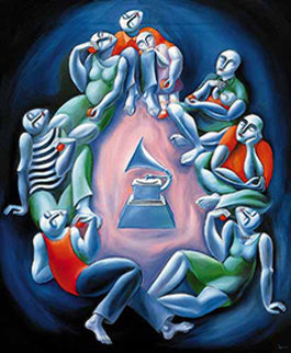 Magic of Sound 1993 Limited Edition Print by  Yuroz