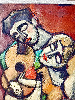 I Love Your Music 1996 34x27 Original Painting by  Yuroz - 5