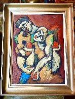 I Love Your Music 1996 34x27 Original Painting by  Yuroz - 1