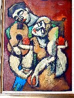 I Love Your Music 1996 34x27 Original Painting by  Yuroz - 0