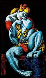 Kiss 1989 Limited Edition Print by  Yuroz
