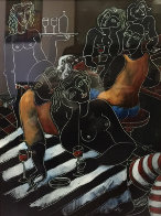 Everyone Has a Dream 1997 36x32 Super Huge Works on Paper (not prints) by  Yuroz - 0