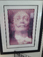 Faces of Dali 1977 Limited Edition Print by  Yvaral - 1