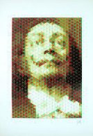 Faces of Salvador Dali: Suite of 6 1977 Limited Edition Print by  Yvaral - 3