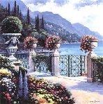 Moltrasio Promenade 2000 Limited Edition Print - John  Zaccheo