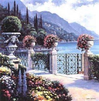 Moltrasio Promenade 2000 Limited Edition Print by John  Zaccheo