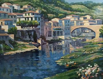 Pontesieva, Italy 1991 Limited Edition Print - John  Zaccheo