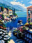 Sunlit Passage 1993 Limited Edition Print - John  Zaccheo