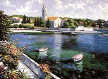 Isle of Hvar 1991 Limited Edition Print - John  Zaccheo