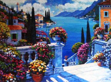 Mediterranean Visage 1996 Limited Edition Print by John  Zaccheo