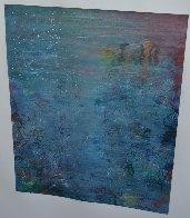 100 Views of Gull Rock 1995 41x52 Super Huge Original Painting by Tino Zago - 1