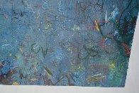 100 Views of Gull Rock 1995 41x52 Super Huge Original Painting by Tino Zago - 6