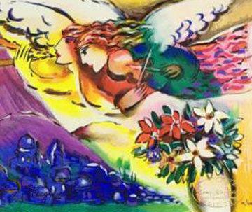 Blue Purple Sky 1990 Limited Edition Print by Zamy Steynovitz