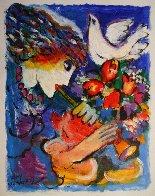 Peace Original Painting by Zamy Steynovitz - 1