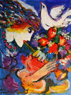 Peace Original Painting by Zamy Steynovitz - 0