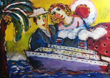 Milosnicy Statkow Wycieczkowych (Cruise Ship Lovers) Limited Edition Print - Zamy Steynovitz