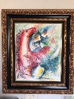 Dreams in Color II 1999 33x29 Original Painting by Zamy Steynovitz - 1