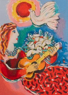 Beauty And Dove 2003 Limited Edition Print by Zamy Steynovitz