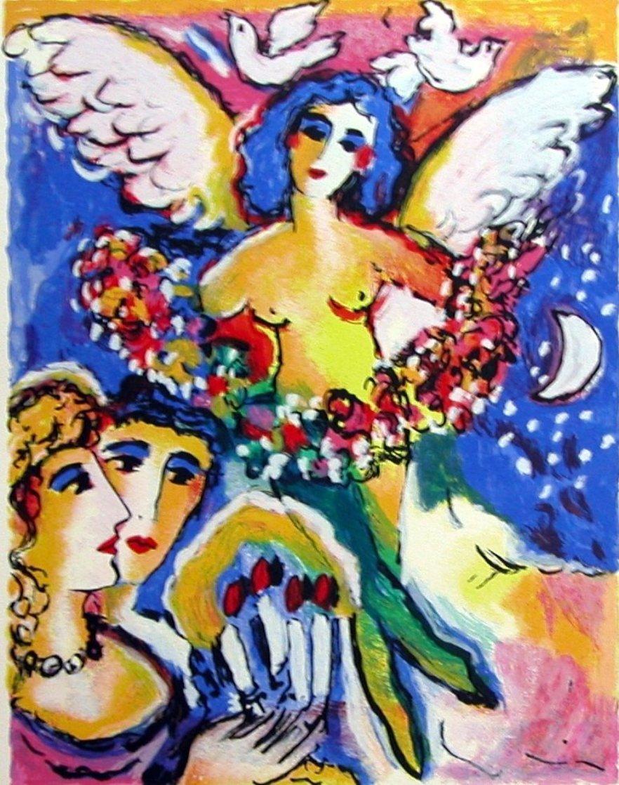 Angel of Love AP 1990 HS Limited Edition Print by Zamy Steynovitz