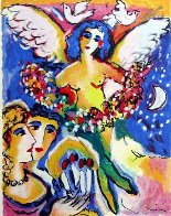 Angel of Love AP 1990 HS Limited Edition Print by Zamy Steynovitz - 0