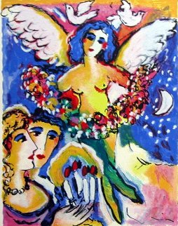 Angel of Love AP 1990 Limited Edition Print - Zamy Steynovitz