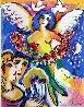 Angel of Love AP 1990 Limited Edition Print by Zamy Steynovitz - 0