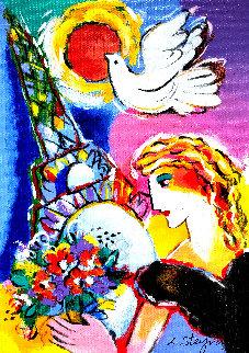 Beauty And Dove AP 2001 Limited Edition Print by Zamy Steynovitz