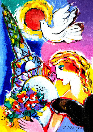 Beauty And Dove AP 2001 Limited Edition Print by Zamy Steynovitz