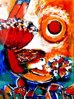 Acrobat 1996  Limited Edition Print by Zamy Steynovitz