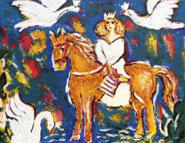 Swan Queen 1980 Limited Edition Print - Zamy Steynovitz