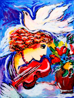 Dove of Peace & Harmony AP HS Limited Edition Print - Zamy Steynovitz