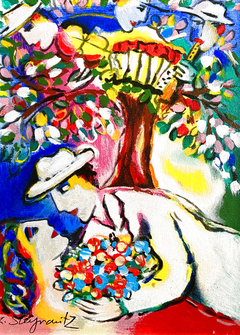 Beneath the Tree 2003 Limited Edition Print by Zamy Steynovitz