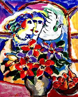Lover At the Window AP -HS Limited Edition Print - Zamy Steynovitz