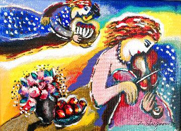 Morning Serenade Embellished HS  Limited Edition Print - Zamy Steynovitz