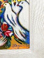 Dove's Promise Embellished HS Limited Edition Print by Zamy Steynovitz - 4