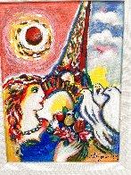 Dove's Promise Embellished HS Limited Edition Print by Zamy Steynovitz - 2